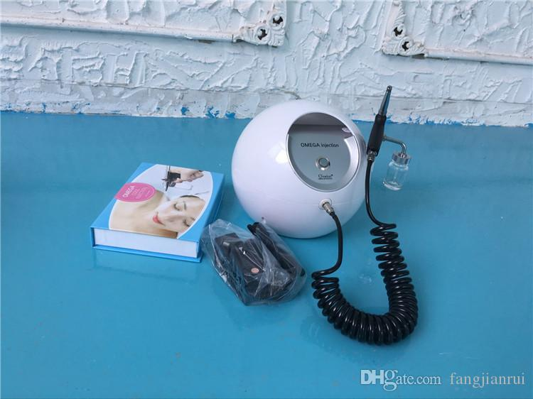 Machine d'épluchage faciale d'équipement portatif d'oxygène de rajeunissement de peau d'utilisation de machine de peau de jet de l'oxygène 2017; soin de la peau du visage; enlever l'acné; w