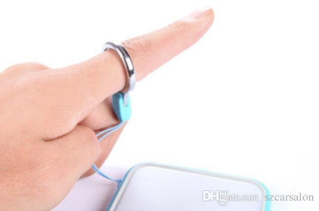 telefone celular estilingue destacável Lanyard anel de dedo para Cell Phone Neck Moda Universal pendurados corda telefone celular chaveiro cartão demountable ID