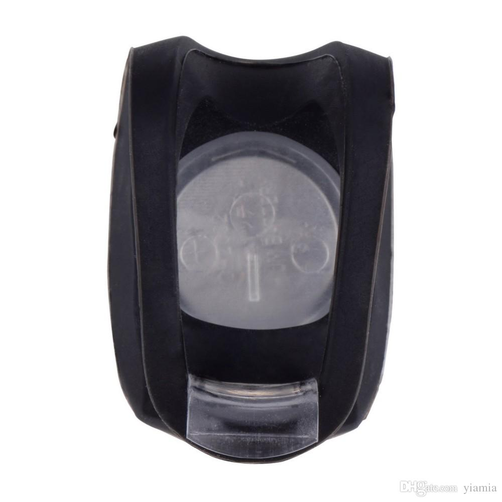 Silicone Bike Bicycle Cycling Head Front Rear Wheel LED Flash Light Lamp Hot Sale