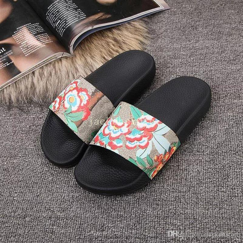 With box Europe Brand designer sandals mens striped causal Non-slip summer huaraches slippers flip flops outdoor sandals BEST QUALITY 38-46 cheap sale visit new cheap tumblr npHCR