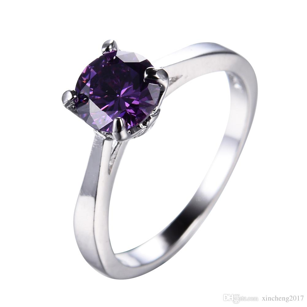 carffany black us set round ring cut plated purple amazon engagement diamond wedding rings jewelry dp com gold size
