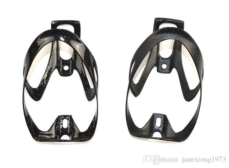 No brand full carbon fiber cycling water bottle cage bike bicycle bottle holder rack 20g bicycle accessories