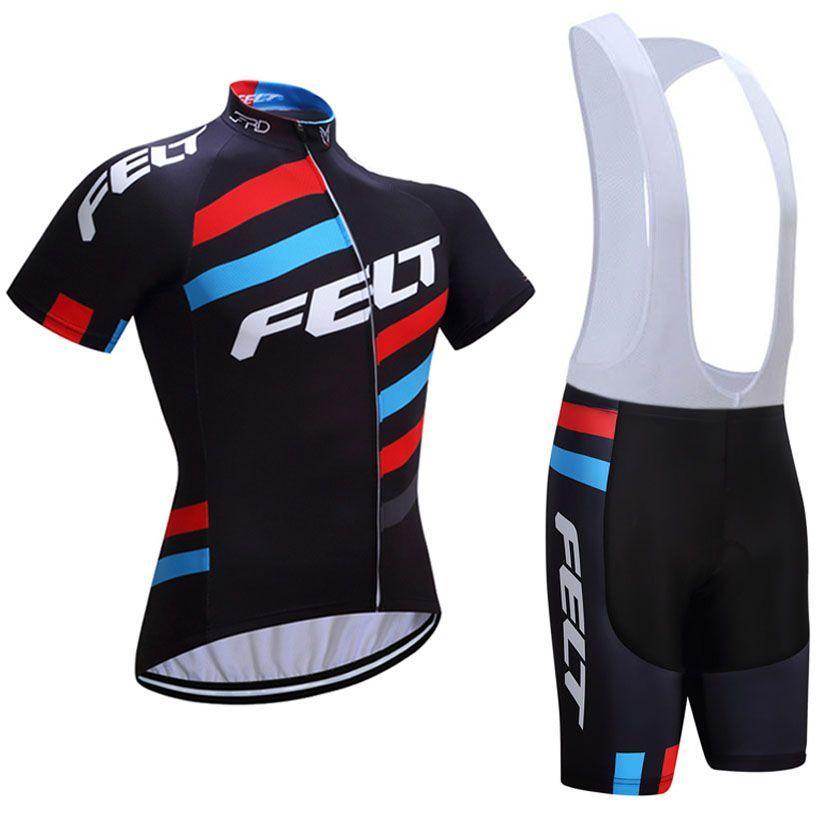 2017 FELT Cycling Jersey Gel Pad Bike Shorts Ropa Ciclismo Quick Dry ... d578b9bdb