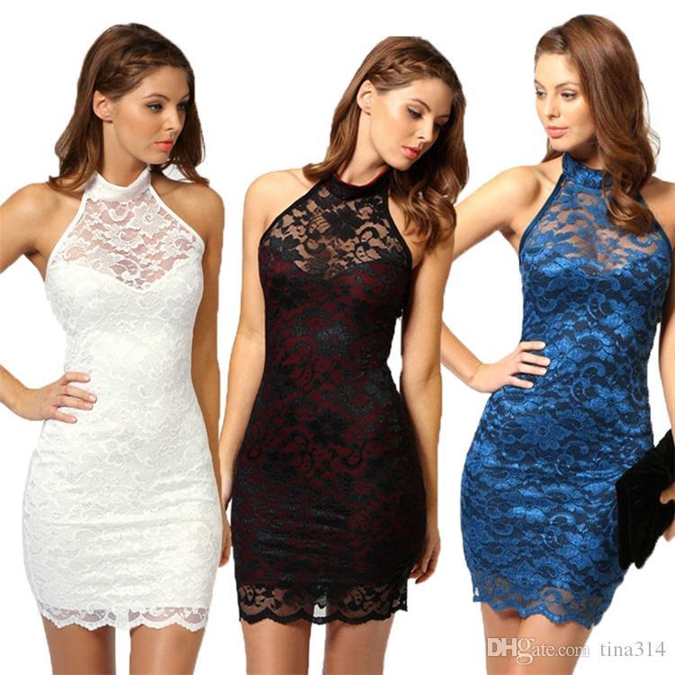 9f4cd178d4b15 New Fashion black sexy dress deep dresses lace perspective tight dress  party dresses women dress BA042