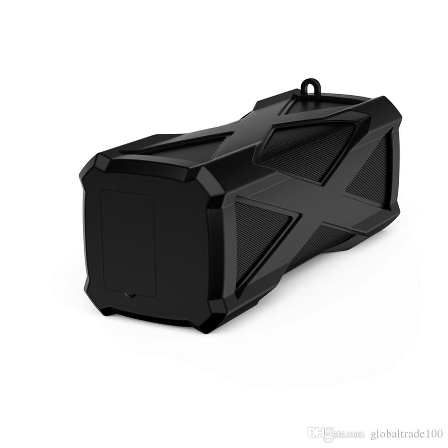 Original A6 Wireless IP6 Waterproof Sport Bluetooth Stereo Speaker with Super Bass Support MIC DC out 4000mah Power Bank
