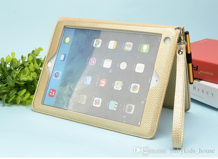 Newnest magic Leather cover Case for ipad 2 3 4 Air1 Air2 Pro 9.7in Stand Holder protect Cover for iPad mini 1 2 3 4