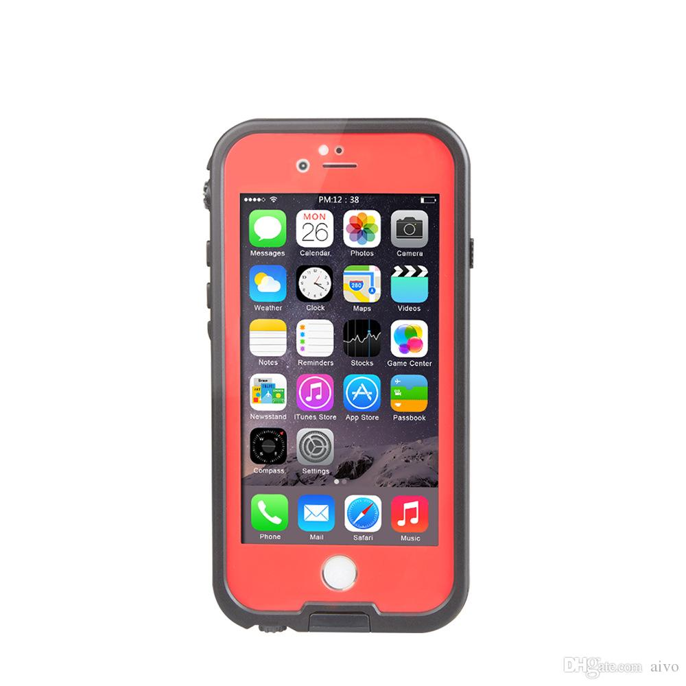 Waterproof Shockproof Snowproof Dirt Snow Proof Case For Iphone 6 4.7 Retail Package VS Redpepper Samsung S5