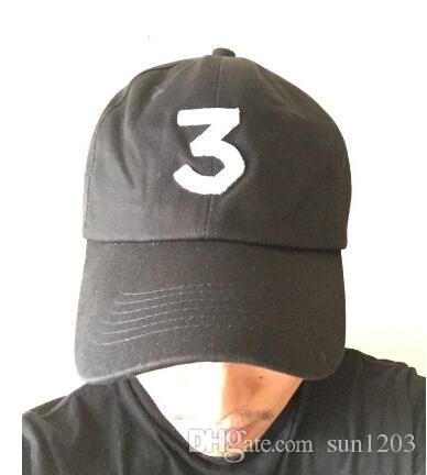cef20cfb86c Hip Hop Chance The Rapper Chance 3 Cap Hat Letter Embroidery ...