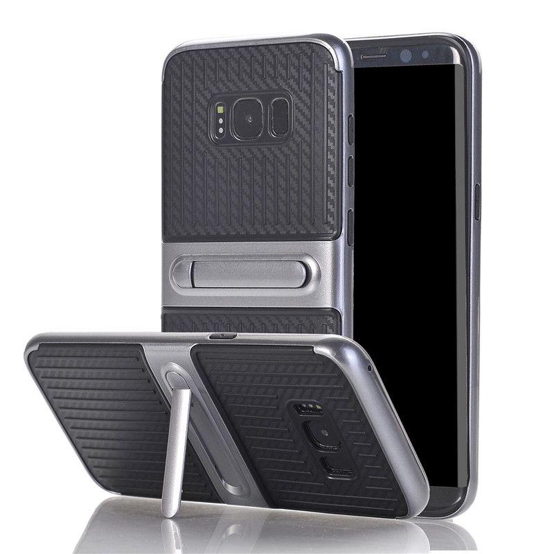 e71d88b096b Hacer Fundas De Movil Súper Para Samsung Galaxy S8 S8 S7 Plus S7 Edge S6  Edge Plus Note 8 5 4 Armor Funda De Plástico Funda De Silicona Para El  Soporte ...