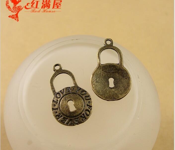 10 pcs//lot Antique Bronze Cross Shaped Tibetan Charms Pendants 22*29mm