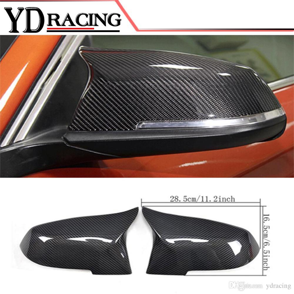 Grosshandel Car Styling Carbon Fiber Seitenspiegel Abdeckungen Fr BMW 1 2 3 4 X1 Serie F20 F22 F23 F30 F31 F35 F34 GT F32 F33 LHD Von Ydracing