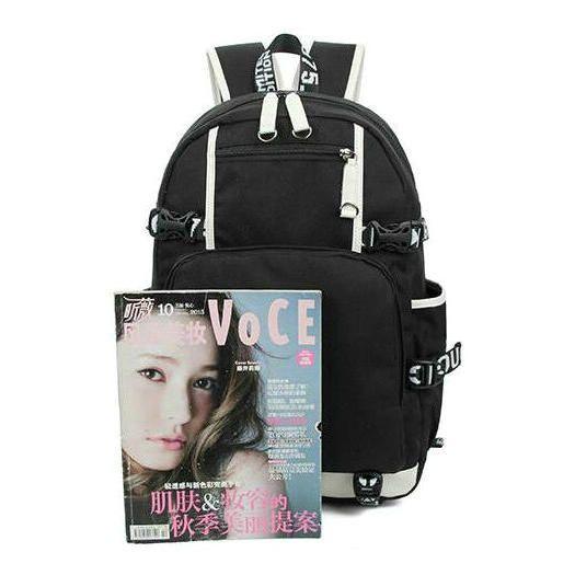Revolver records rucksack Juke daypack Top DJ music schoolbag Nice knapsack Laptop backpack Sport school bag Outdoor day pack