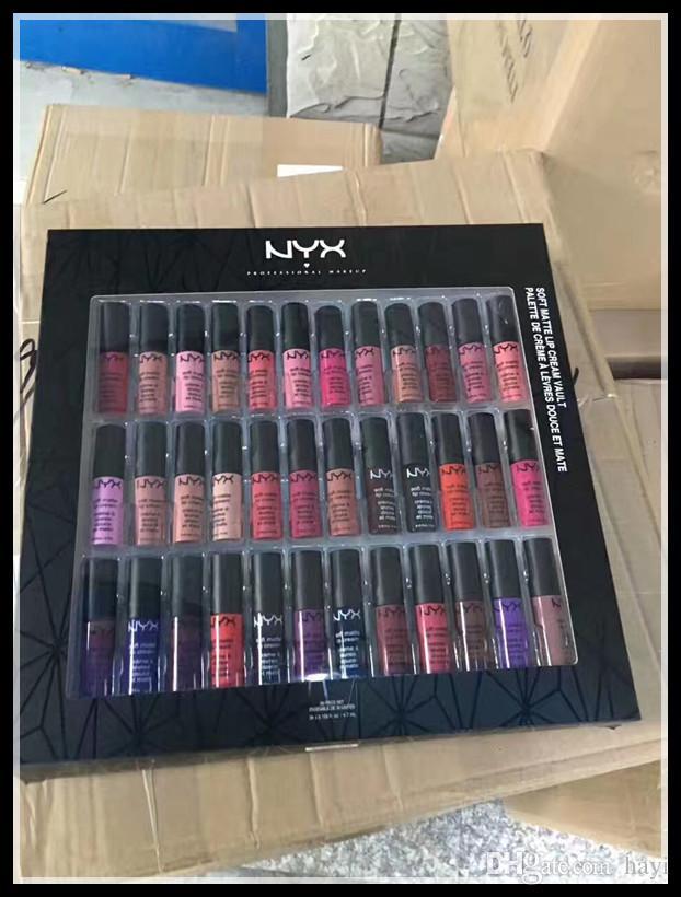 Brand NEW NYX Lipgloss kit NYX Soft Matte Lip Cream Lipstick No Fading Sofe Velvet Lip Gloss IN STOCK