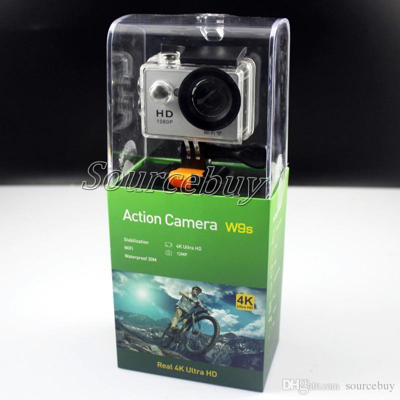 e2a519cb0c04c4 Compre 4k Sports Camera Hd Ação 2 Wifi Mergulho 30m À Prova De Água ...