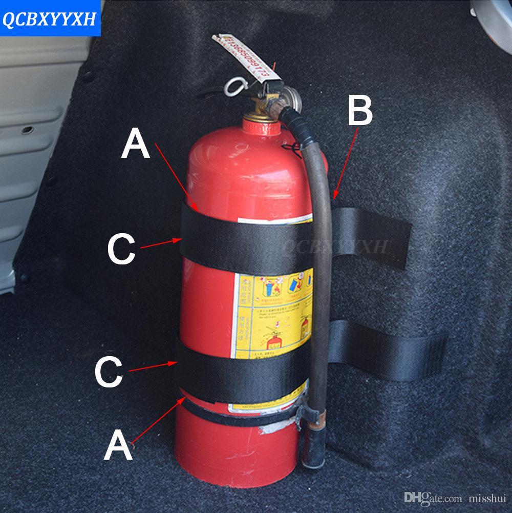 5 шт./компл. багажник автомобиля получить магазин содержание сумка для хранения сети для KIA Toyota Nissan Honda BMW Audi огнетушитель крепления ремня