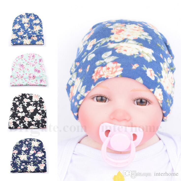 2019 Printed Crochet Hats Newborn Baby Floral Pattern Flanging Cap Infant  Lovely Camouflage Vintage Decorative Pattern Caps Accessories H277 From  Interbaby afbfaddeff2d