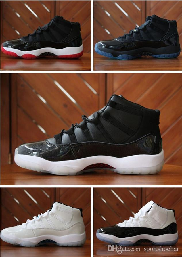 11S Bred Concord Top Quality Man And Women Basketball Shoes 11S Legend Blue  Sports Shoes Size Eur 36-47 Wholesale 11s Bred Concord Legend Blue Online  with ... e7da9ea25