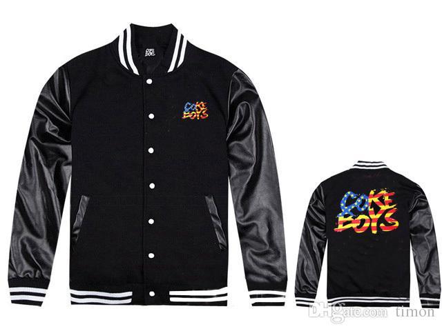 2018 nouveaux coke boys vestes livraison gratuite hip hop vêtements à vendre épais manteaux de baseball mode nouveau style discount hiphop veste en cuir