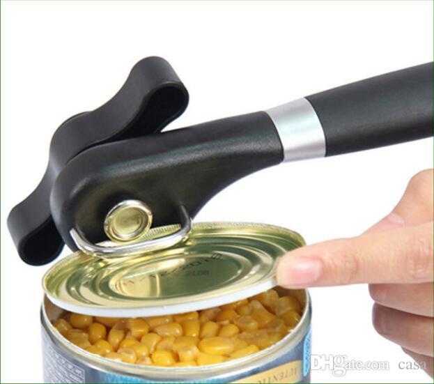 Abridor de latas profissional ergonômico manual pode abridor de lado lateral manual abridor de latas