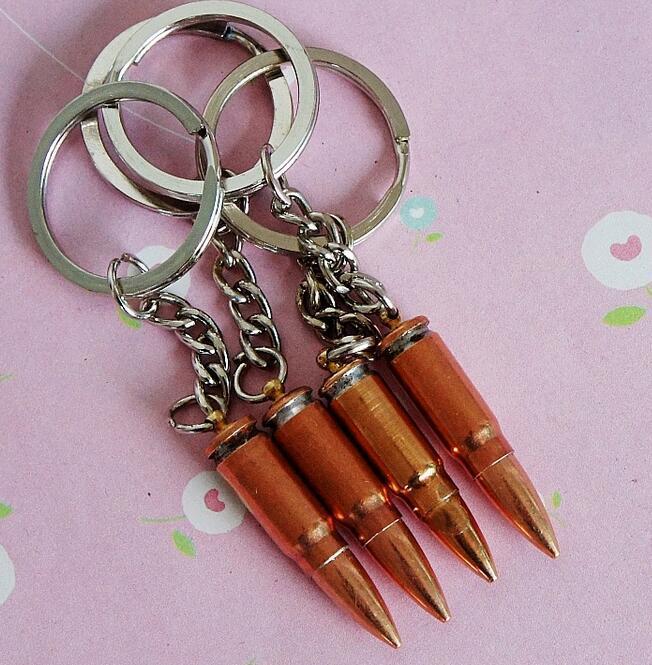 Moda Anahtarlık Anahtar Aksesuarları Yaratıcı Mini Gadget Metal Anahtarlık Bullet Yapay Tabanca Bullet Anahtarlık Moda Aksesuarları DHL Ücretsiz
