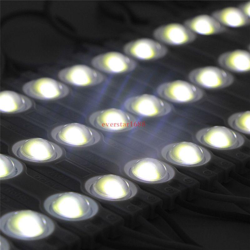 Les modules LED stockent le signe de la lumière de la fenêtre avant de la lampe 3 SMD 5630 Injection blanc ip68 La lumière de bande imperméable à l'eau a mené le rétroéclairage 10pi =