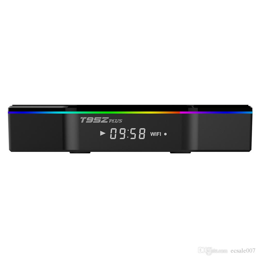 T95Z PLUS AMLOGIC S912 Android TV Kutusu 3 GB 32 GB Octa Çekirdek Kol Cortex-A53 2G / 16G BT4.0 2.4G / 5.8G Çift Bant WiFi H.265 4k Media Player 3G32G