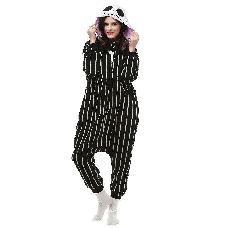 7dc5cb52c8a6 Brand New Unisex Adult Kigurumi Pajamas Jack Costume Cosplay Animal Onesies  Men Women Cartoon Sleepwear Jumpsuit Wholesale Cosplay Costumes Japanese  Cartoon ...