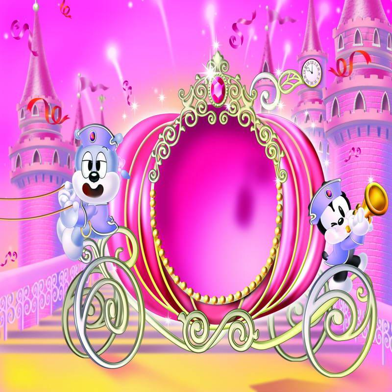 2019 vinyl kids cartoon photo backgrounds princess girl pink
