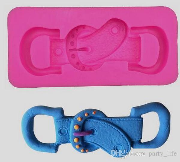 The head of belt Fondant Cake Chocolate Cookies Sugarcraft Mold Cutter Silicone Mould Bake Tools DIY Hot Sale!