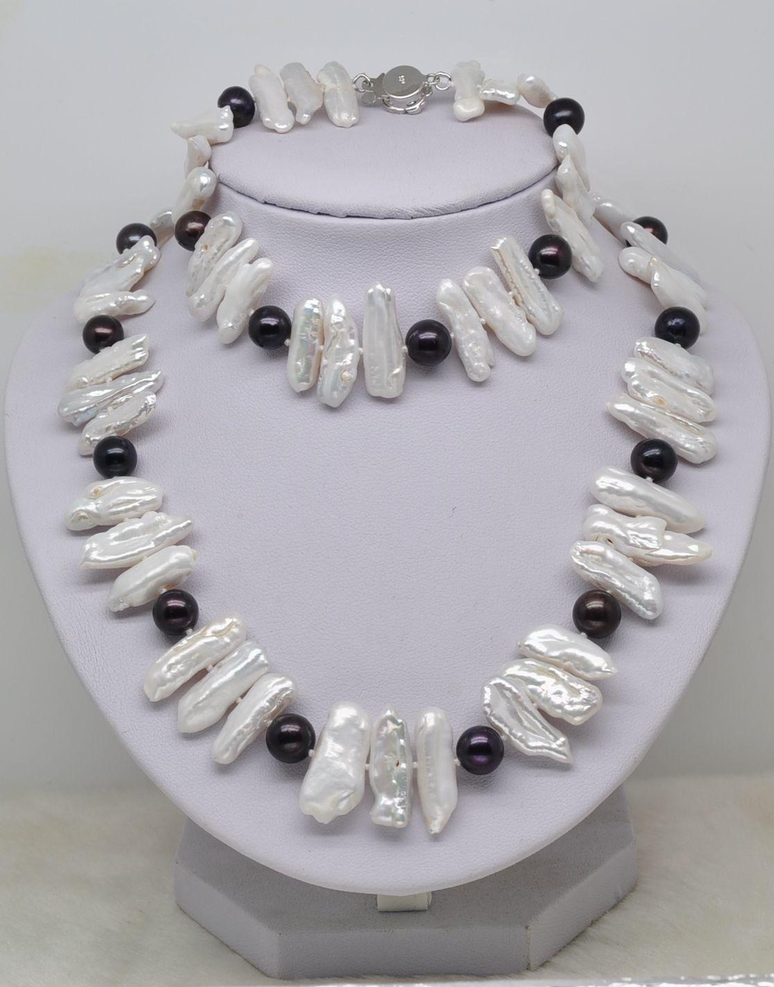 collier de perles biwa