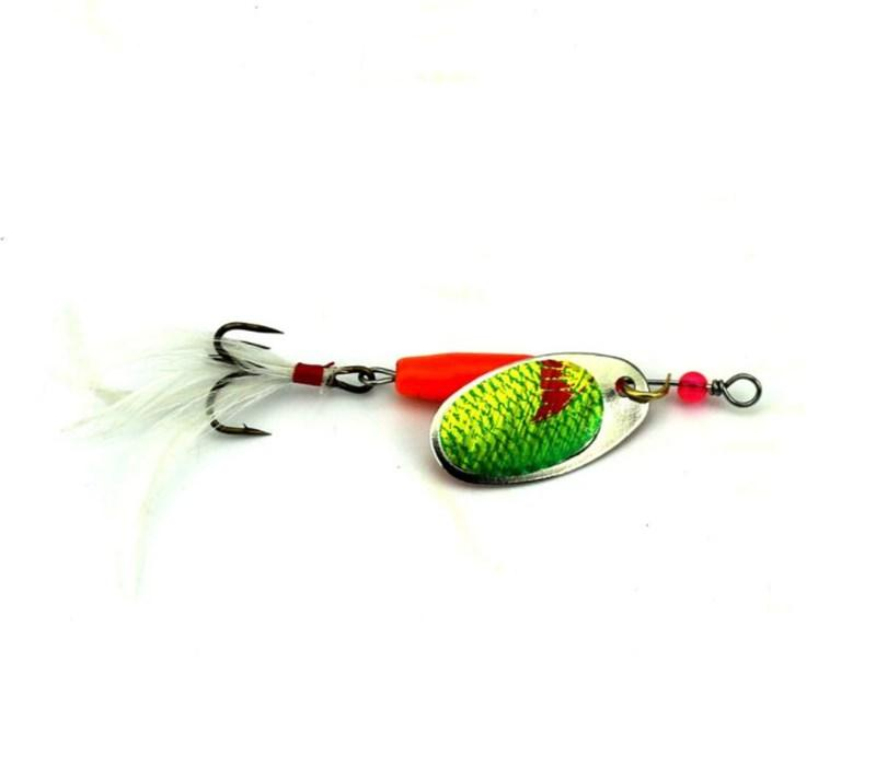 77 Gram Jigging Spoons Baits 10cm Metal Fishing Spincast or Spinnerbaits Crappie lures with Feather Hook