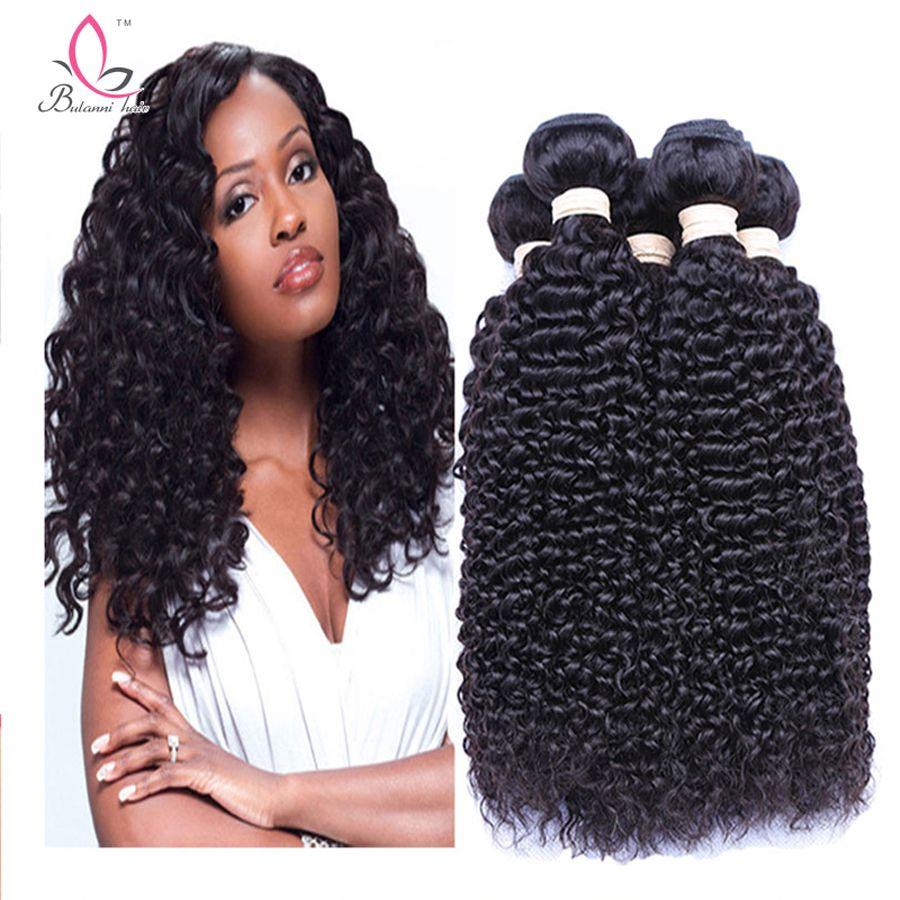 Malaysian Deep Wave Curly Virgin Human Hair Weaves Bundles