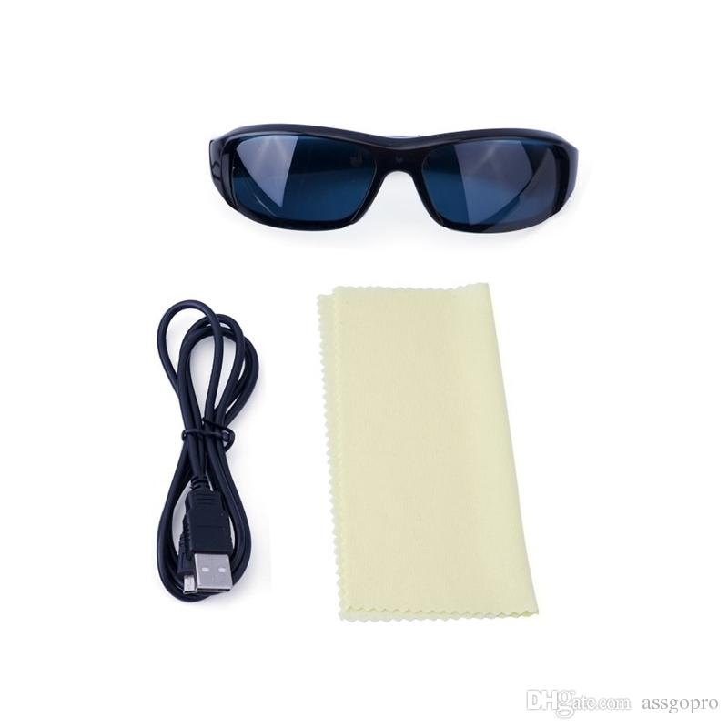 HD Super Portable Camera Sunglasses DVR 1920*1080 Surveillance Camera Mini Eyewear Camera Video Glass Frame Cam DV Security DVR Recorder