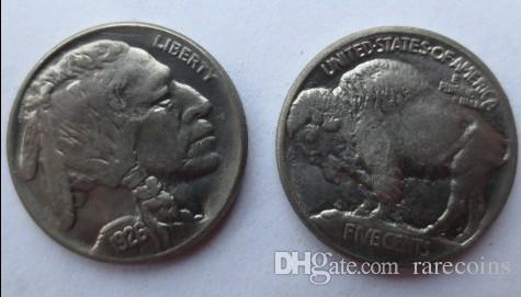 Date 1926 Buffalo Nickel five cents COINS COPY Promotion Cheap Factory  Price nice home Accessories Coins