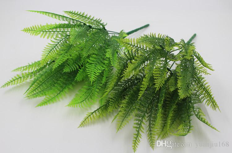 Persian fern plastic flower simulation fern green plant flower arrangement mold simulation grass Persian fern household items
