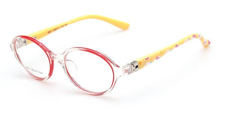 /  Art und Weiseplastik scherzt optische Rahmenkinderbrillenrahmen für Verordnung viele Farben annehmen Mischauftrag 8801