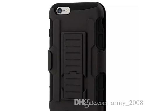6S S6 Future Armour Impact Hybride Dur Cas Couverture + Clip De Ceinture Kickstand Combo Pour Pour iPhone 4 5 6s Plus Samsung Galaxy S5 S6 Bord Note4