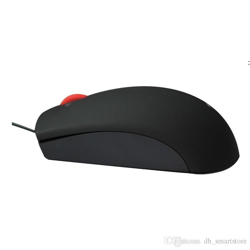 Para Lenovo ThinkPad Mouse 0B47153 0B47153 LED Óptico USB con cable Ratón de la computadora Ratón Cable Ratón Envío gratis