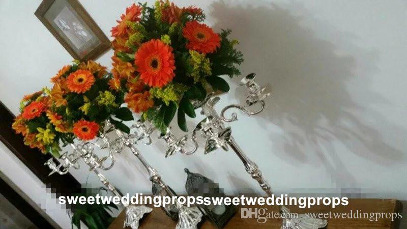 hiçbir çiçek dahil weddding centerpieces için zihinsel çiçek standı / mental geçit kurşun yol toptan