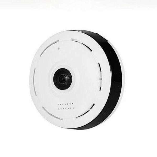 Visión nocturna por infrarrojos Cámara IP Wifi de 360 grados Cámara de monitoreo panorámico HD 960P MINI DV DVR Cámara CCTV de vigilancia inalámbrica para el hogar