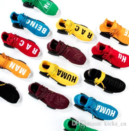 2018 Complete List Of Nmd Human Race Colorways Friends And