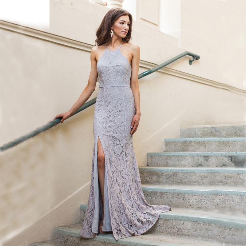 Halter dresses for wedding guests wedding ideas for Formal wedding dresses for guests