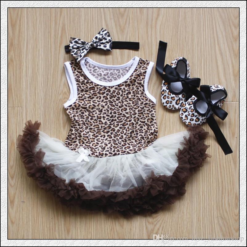 12 estilos baby meninas tutu saias macacões 3 partes set headband + romper + sapatos infantil toddle bebê placas jumpsuit onesies crianças roupas roupas