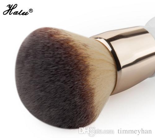 HaLu Power brush Super soft Round gourd Makeup Beauty brushes cosmetic tool Big Brush Blush Large Cosmetics Aluminum Brushes