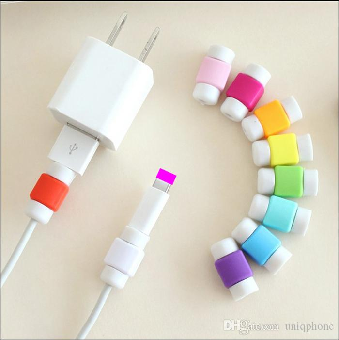Usb Charger Wire Cable Protector Cover Earphone Line Data Cable ...