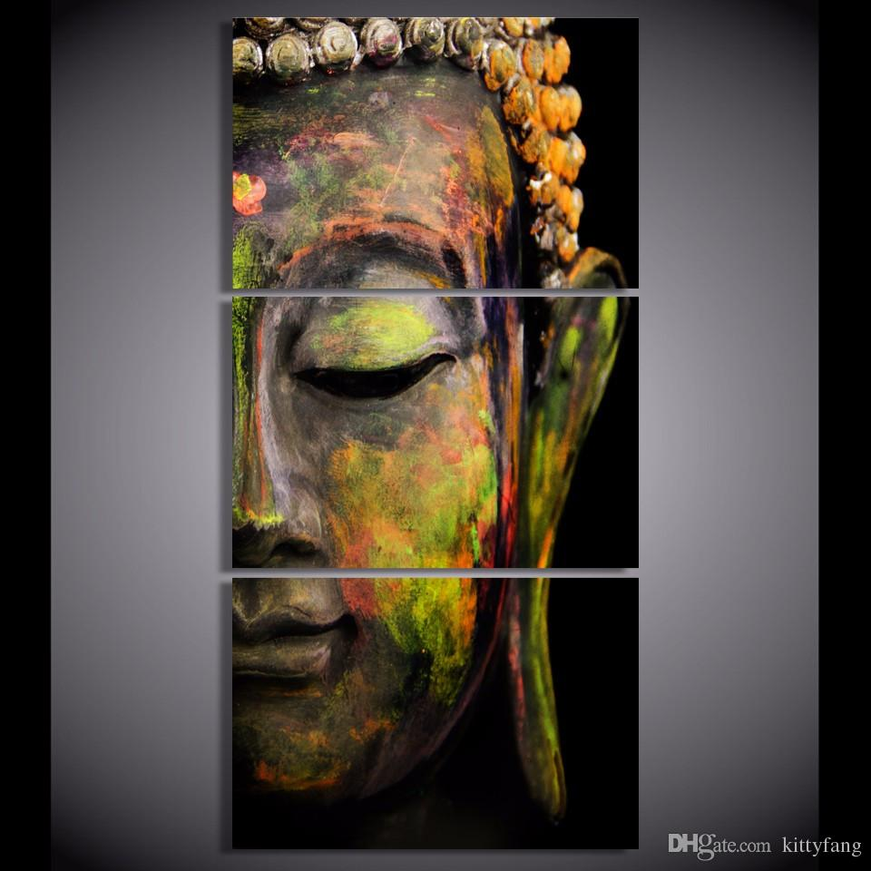 Framed HD Printed Buddha Portrait Art Picture Wall Art Canvas Print Decor Poster Canvas Oil Painting