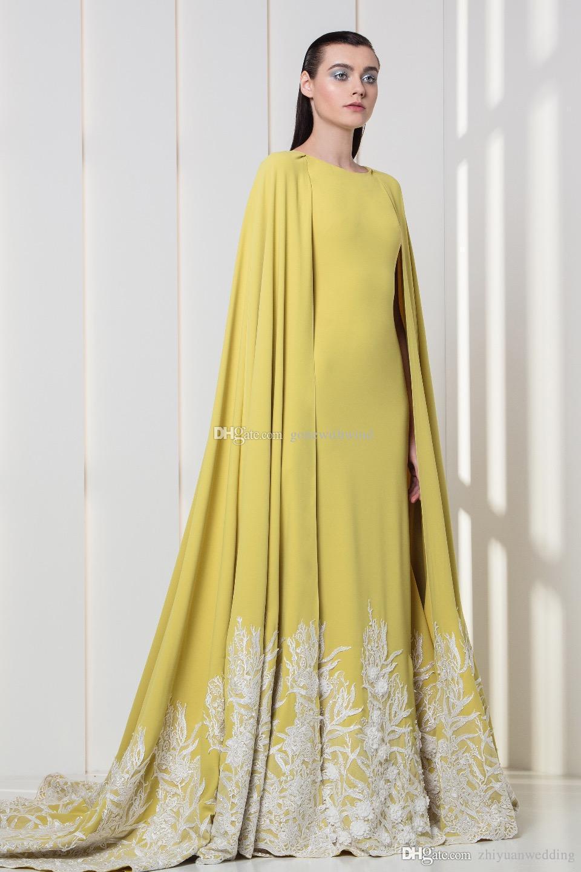 Saudi Arabia Middle East Wrap Sleeves Caftan Evening Dresses 2018 ...