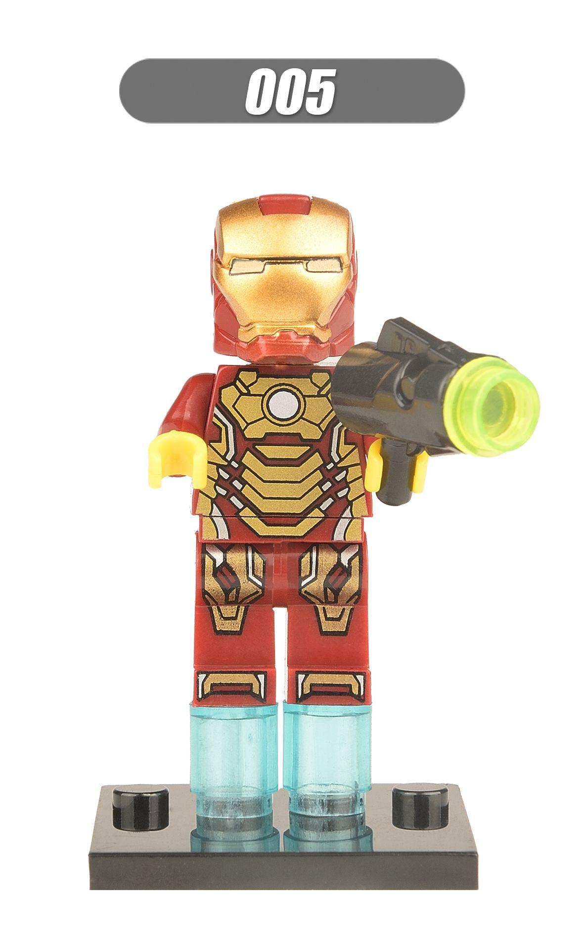 DHL Mini Super Heroes figure Hulk Batman Spiderman Wolverine Deadpool Robin Iron Man Thor Building Blocks Toys