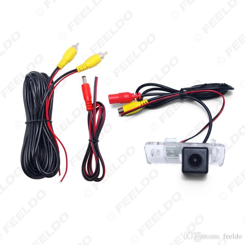 FEELDO Специальная Автомобильная камера заднего вида для Audi A3 Для 2012 ~ настоящее время / A6 2004 ~ 2011 Sedan Парковка Камера # 4361
