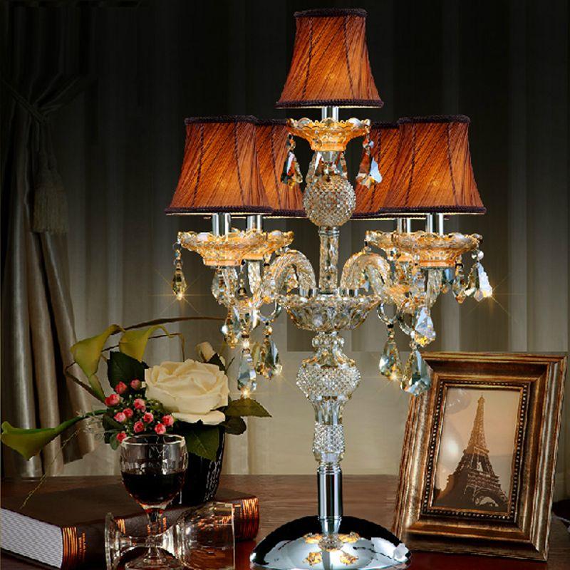 European Style Hotel Club Restaurant Table Lamp Villa Living Room - Table top lamps for restaurants